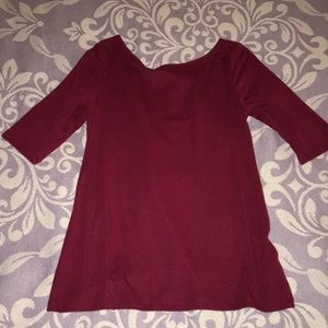 Tops - Old navy 3/4 sleeve top size small